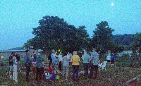 Conshohocken community garden meeting